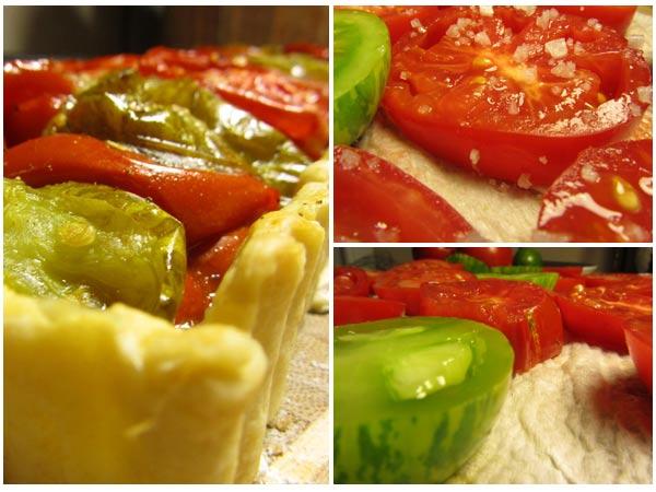 Tomato Tart & Tomatoes