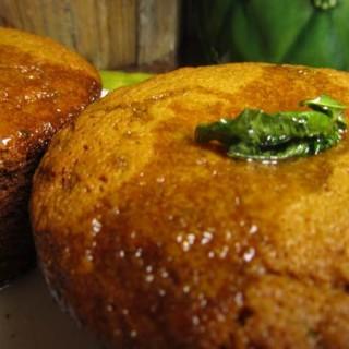 Lemon Verbena Olive Oil Muffins