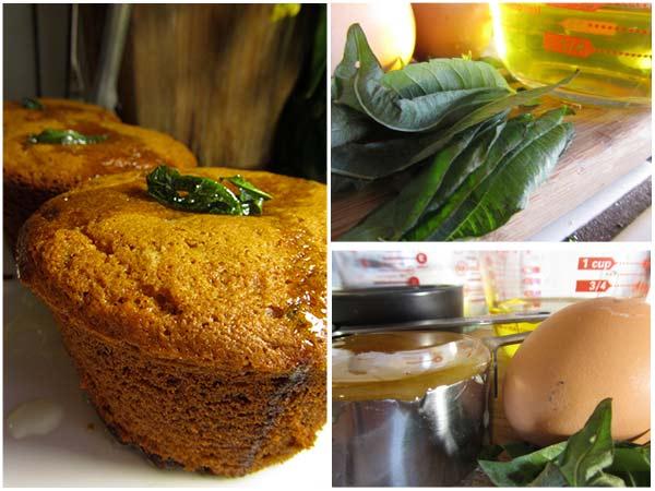 Lemon Verbena Olive Oil Muffins, Lemon Verbena Olive Oil Eggs, Honey Flour