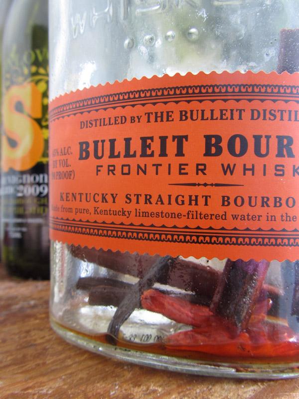 Spiced Bourbon for Horchata Cocktails (Bulliet)