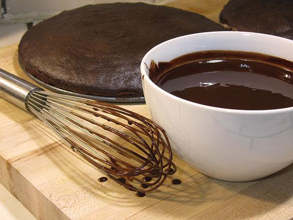 Chocolate Cake with Cinnamon & Chilies