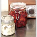 Strawberries with Vanilla Creme Fraiche