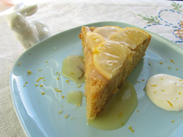 Lemon Rosemary Cake Rosemary Caramel
