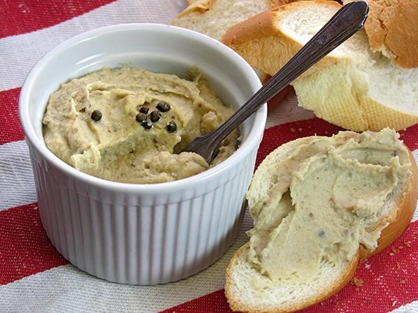 Gluten Free Vegan, Butterbean & White Truffle Pâté