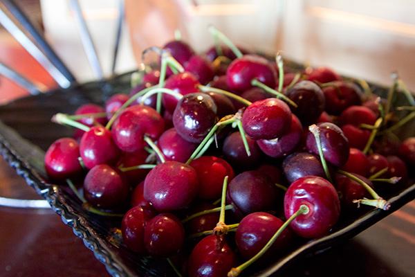 Cherries at Navio, The Ritz Carlton Half Moon Bay