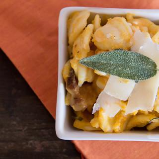 Butternut Squash & Pancetta Pasta
