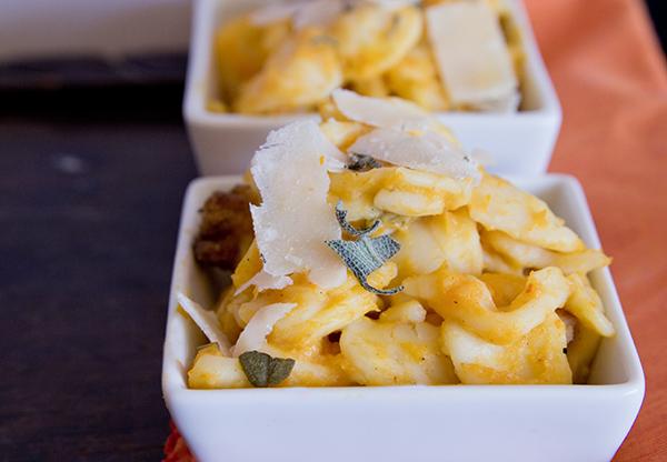 Butternut Squash Pancetta Pasta