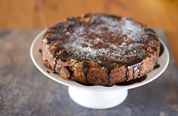 Pumpkin Spice Cake Using Spelt Flour