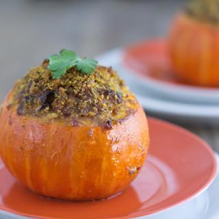 Lamb Meatloaf Baked in Mini Pumpkins A Vintage Recipe Remake