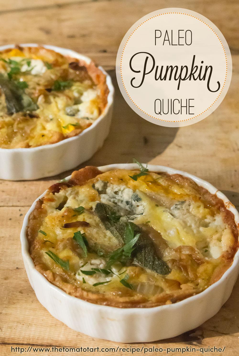 Paleo Pumpkin Quiche A Gluten Free Grain Free Quiche Of