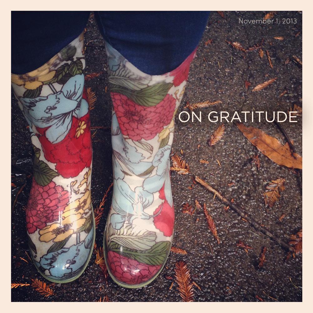 on gratitude and #nablopomo