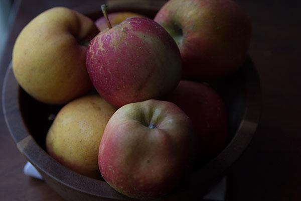 Homegrown Apples