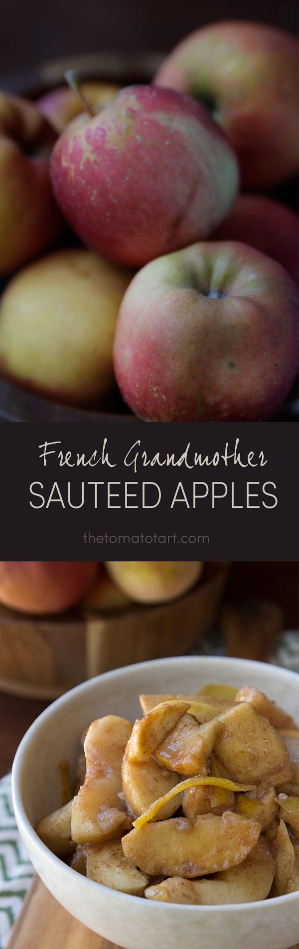 Sautéed Apples with Honey from www.thetomatotart.com