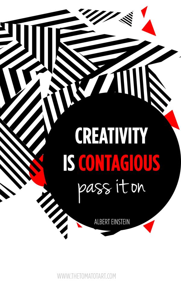 Creativity is Contatagious