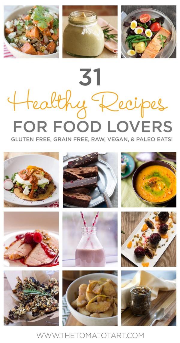 31 Healthy Paleo Recipes From Cauliflower Popcorn to Strawberry Shakes