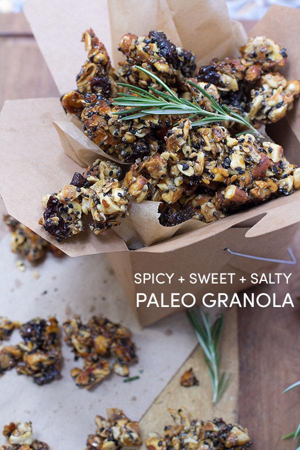 Paleo Sweet Salty Granola