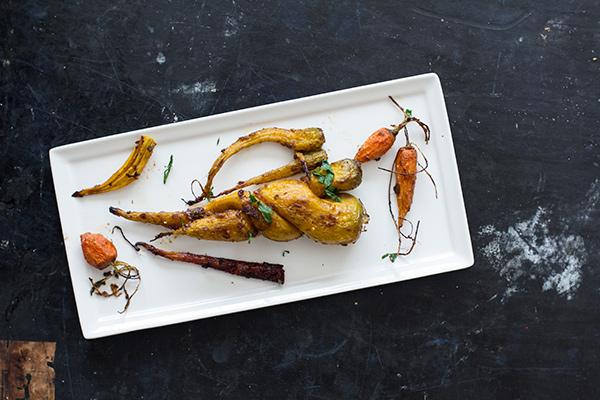 Tamarind Glazed Carrots