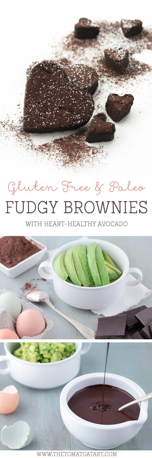 Paleo, Grain Free, Gluten Free Brownies @thetomatotart