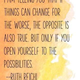 Ruth Reichl on Change