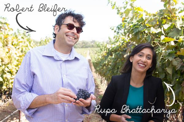 Chef Robert Bleifer and Rupa Bhattacharya of Food Network